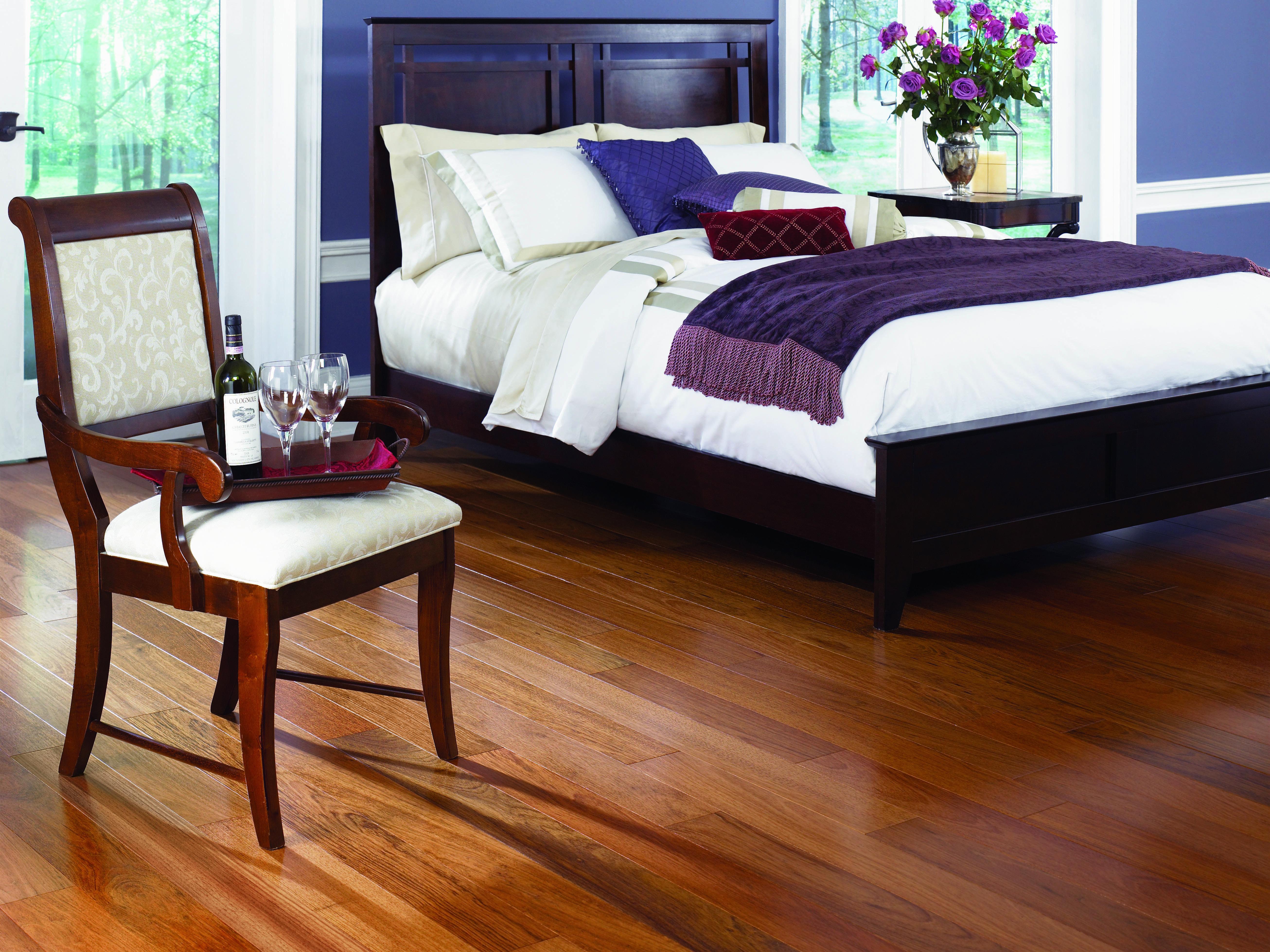 Prefinished Brazilian Cherry Hardwood Style, durability