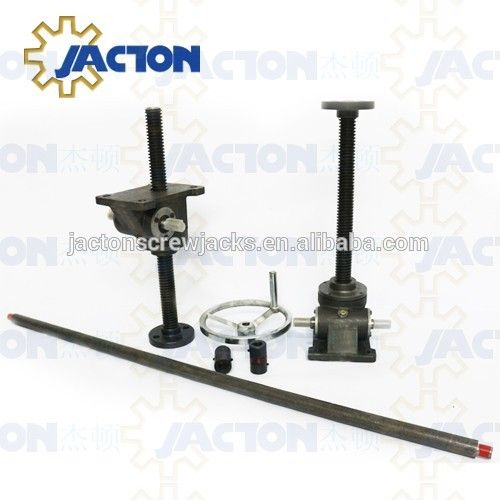 industrial style hand crank lift tables base 2 5t kits crank