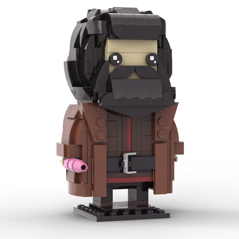 Custom Lego Hagrid Harry Potter Brickheadz Custom Lego Lego Lego Super Mario