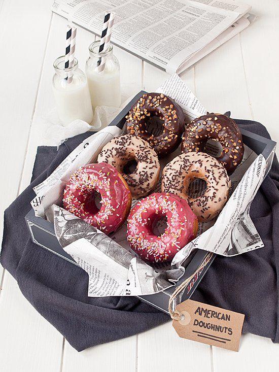 Donuts y glaseados