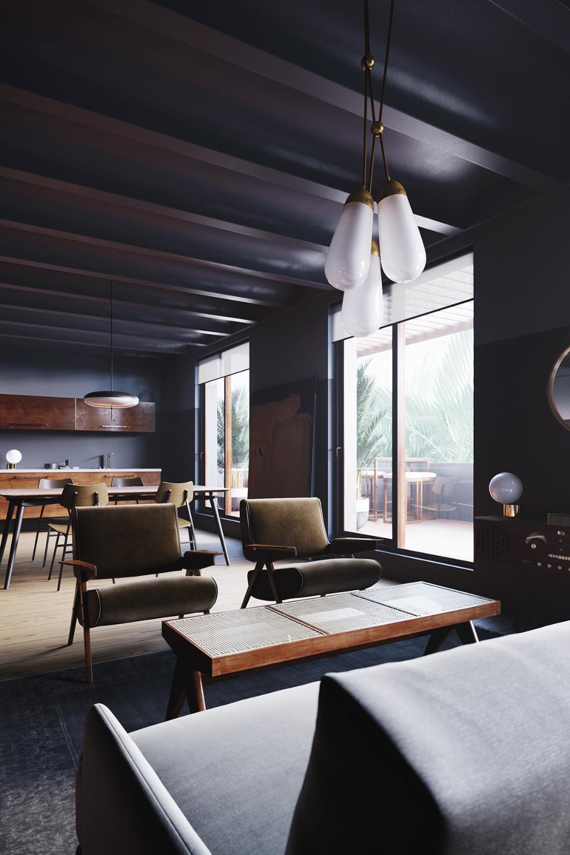 Autodesk Room Design: UN ÁTICO EN EIXAMPLE BARCELONA On Behance