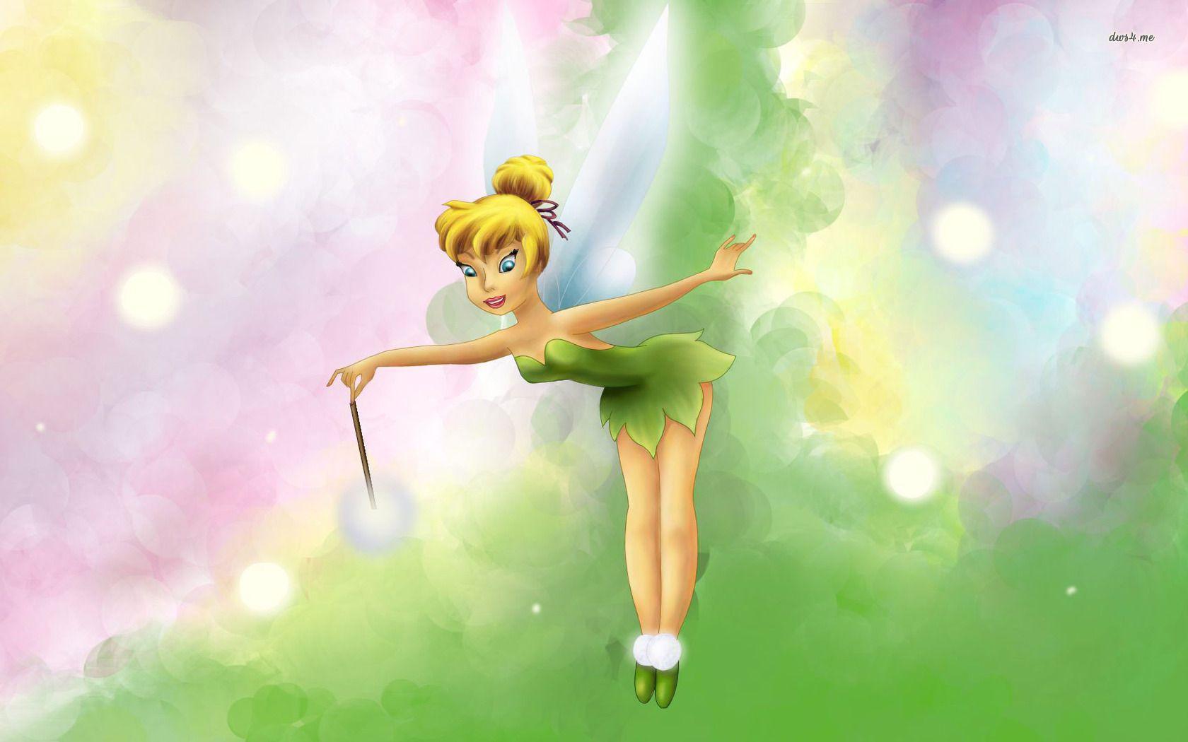 Tinkerbell Hd Wallpaper Tinkerbell Wallpaper Peter Pan And Tinkerbell Tinkerbell Disney