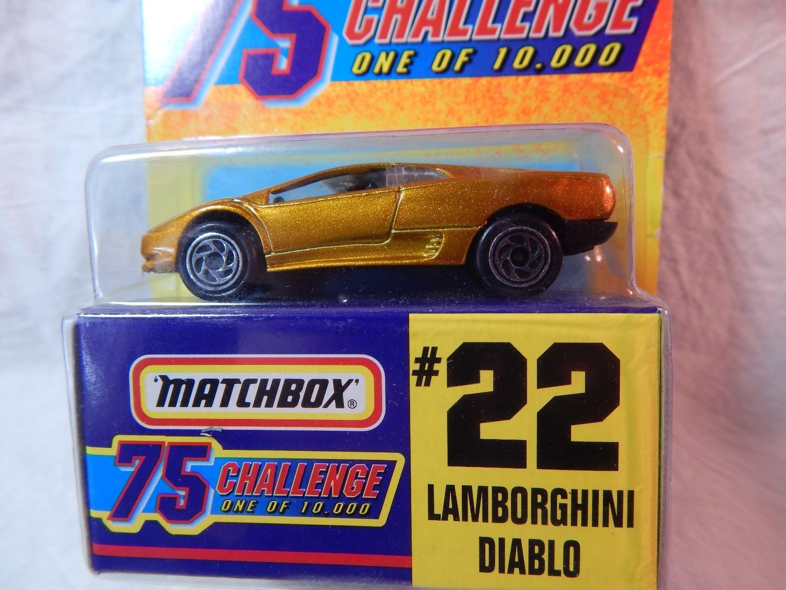 Cool Amazing MATCHBOX GOLD CHALLENGE ONE OF - Cool cars 10000