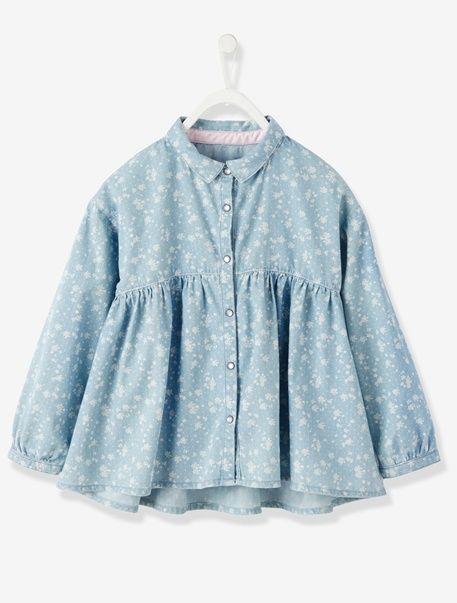 683da23dd Camisa de chambray niña