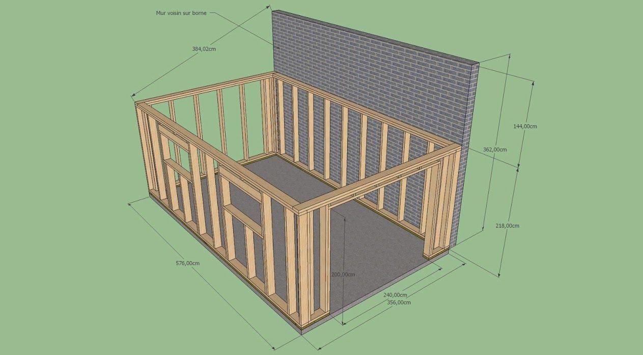 Bonsoir a tous voila je fais appel a vous pour critiquer for Construire un garage en ossature bois