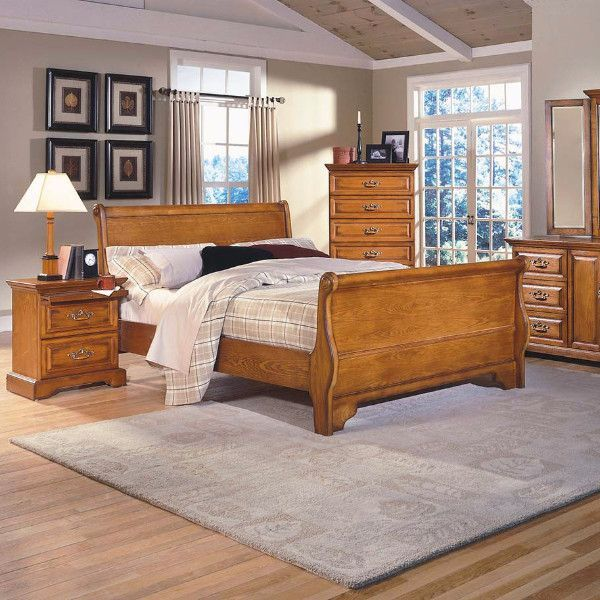 Honey Creek Sleigh Bedroom Set