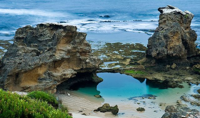 Rock Pool Blairgowrie Bridgewater Bay Victoria Natural Pools Pinterest Rock Pools
