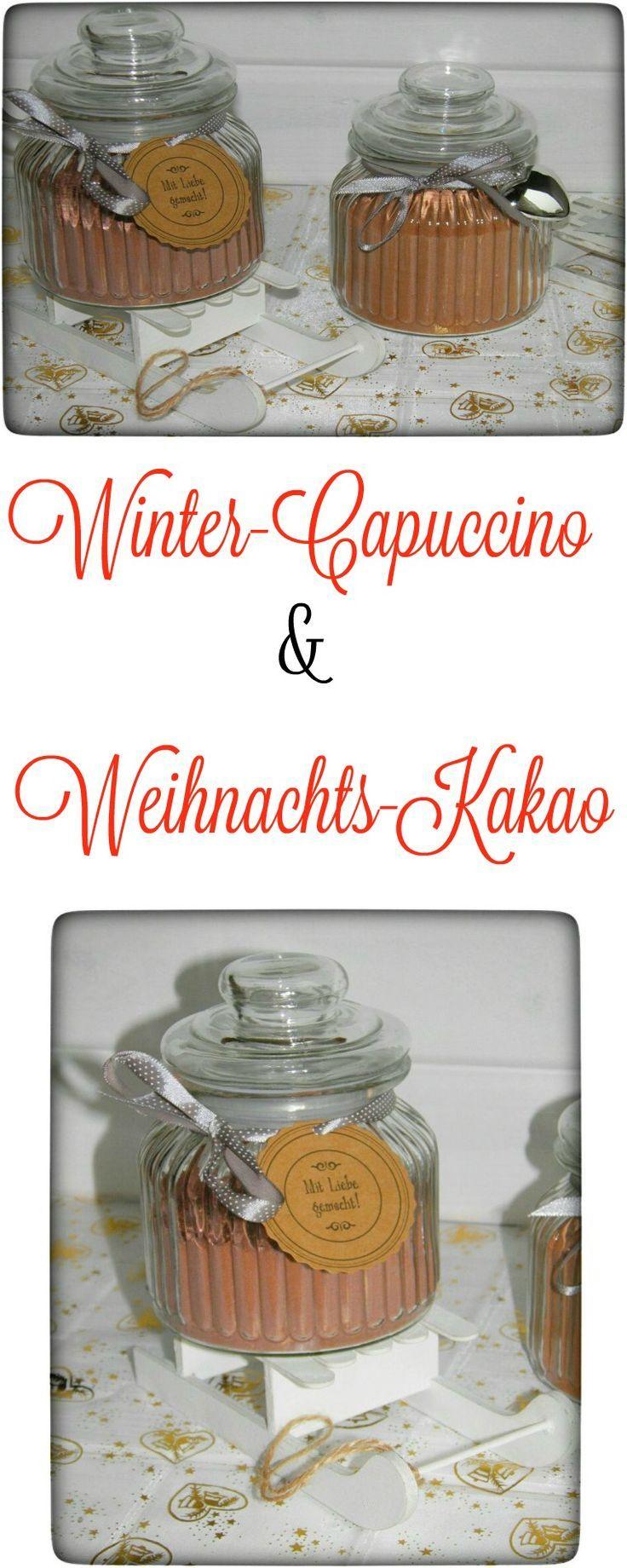 Winter-Cappuccino & Weihnachts-Kakao - eine schöne Geschenkidee - Food & Travel-Blog #falldesserts