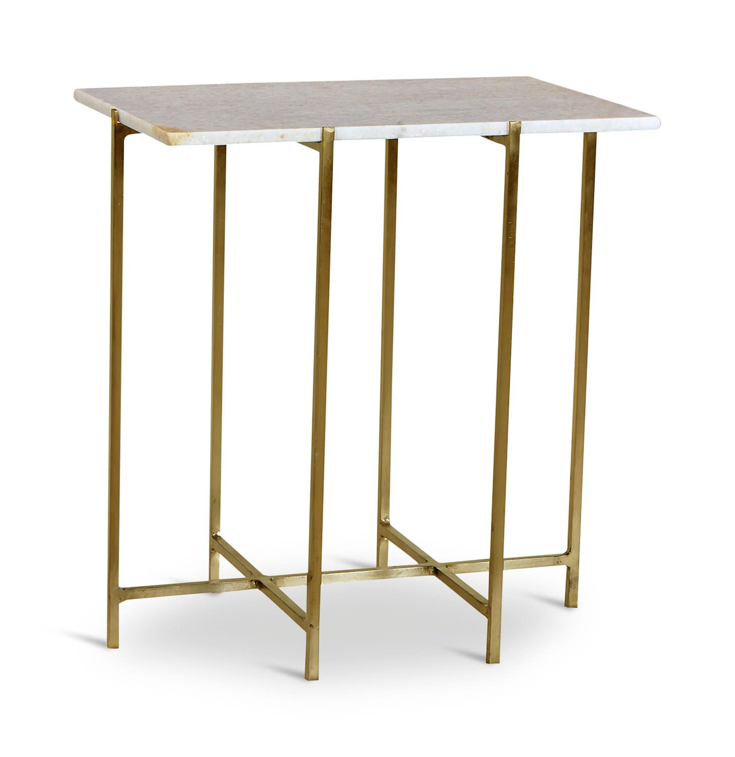 Higgins Marble Chairside Table Hom Furniture Furniture Stores