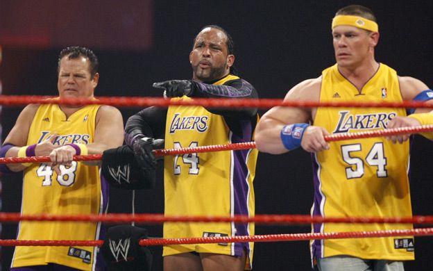 John Cena, MVP, and Jerry Lawler Monday Night Raw 5/25/09