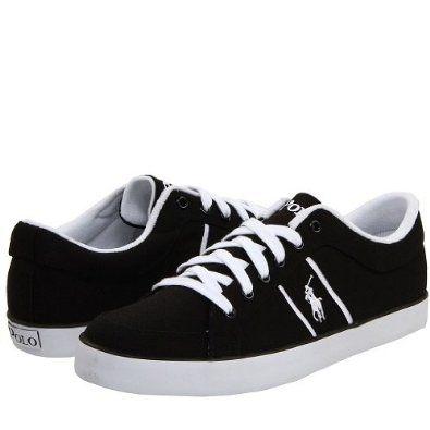 Polo Ralph Lauren Kids\u0027 Bolingbrook Canvas Sneaker - Navy (3.5 Junior)