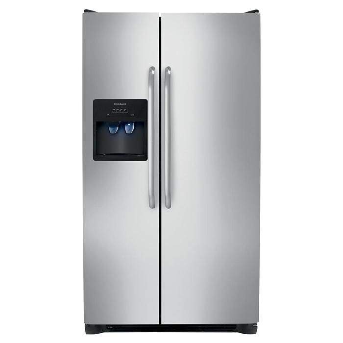 26 Cu. Ft. Side by Side Refrigerator | Nebraska Furniture Mart | For ...