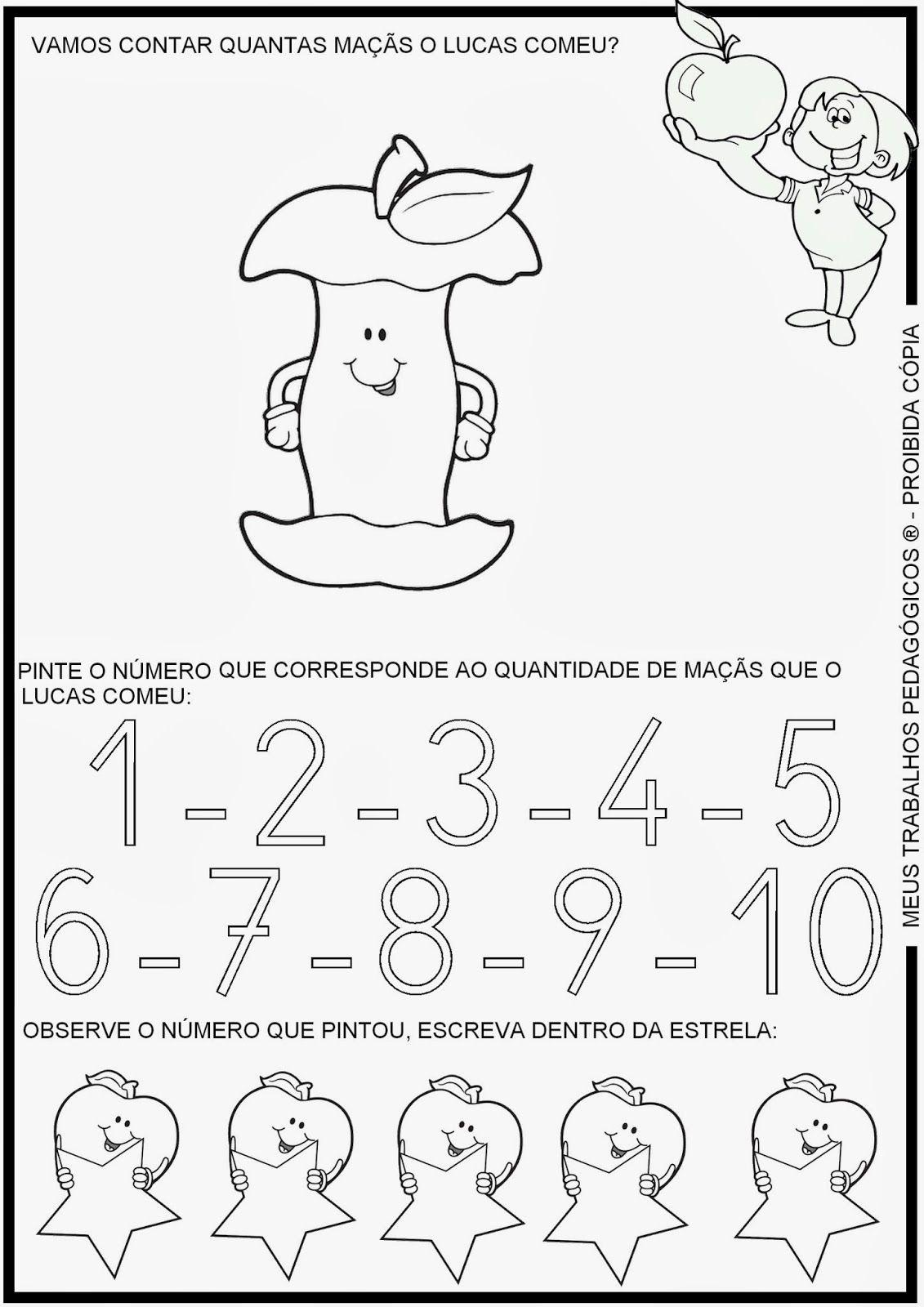 Atividades De Matematica Contando Macas 1 Jpg 1131 1600