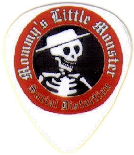 """myLife Hard """"Round Tip"""" Guitar Pick {Social Distortion Mommy's Little Monster - Great for Acoustic and Electric Guitar} [Single Pick] myLife Brand Products http://www.amazon.com/dp/B00V7C6658/ref=cm_sw_r_pi_dp_vShfvb02FRZRT"""