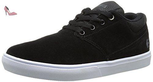 Etnies Fader, Chaussures de Skateboard Homme, Noir (Black Silver Sum 569), 47 EU