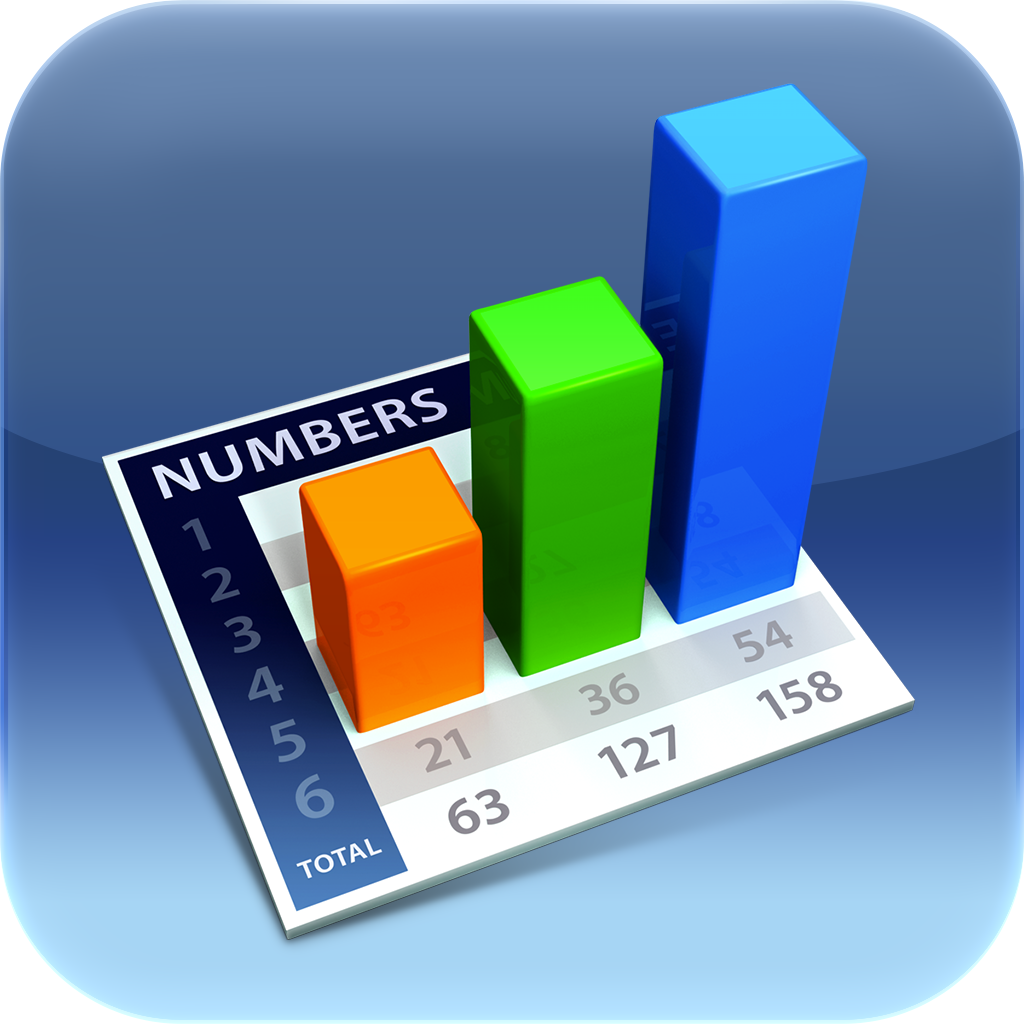 Numbers app: Numbers is a spreadsheet app designed from the group up ...
