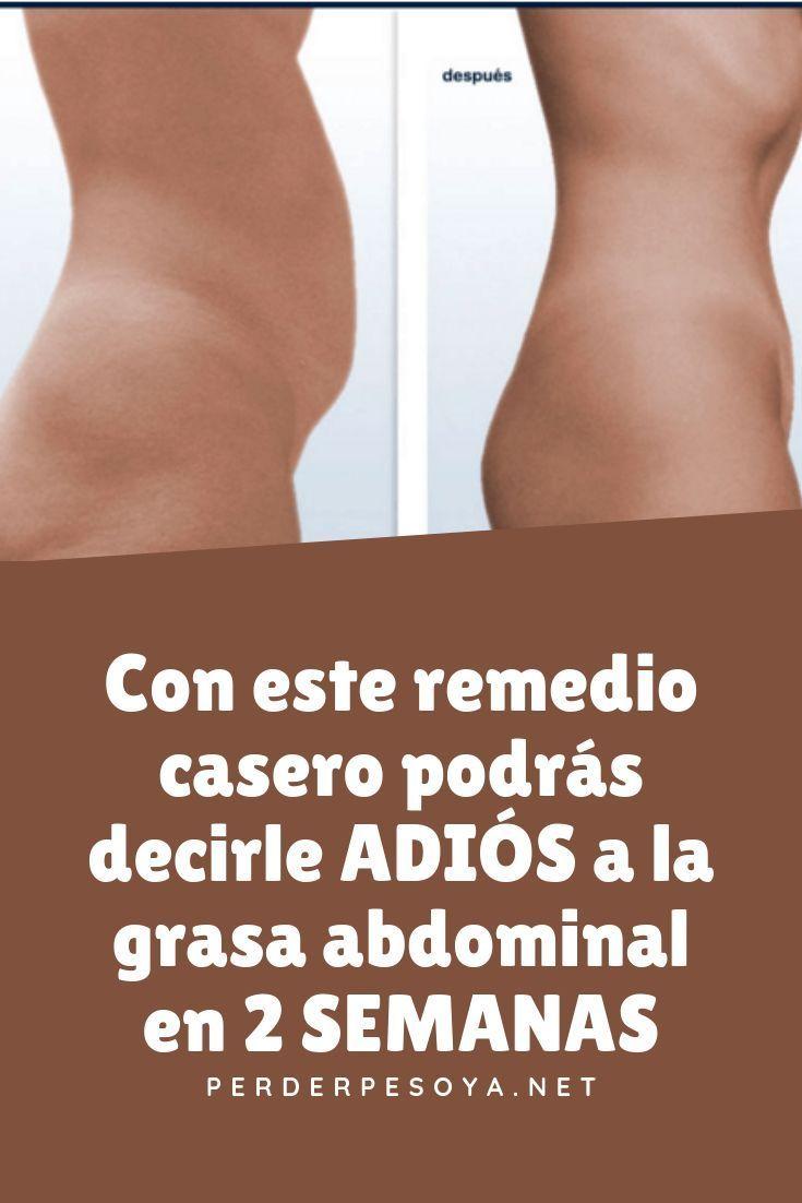 como eliminar grasa rapidamente del cuerpo