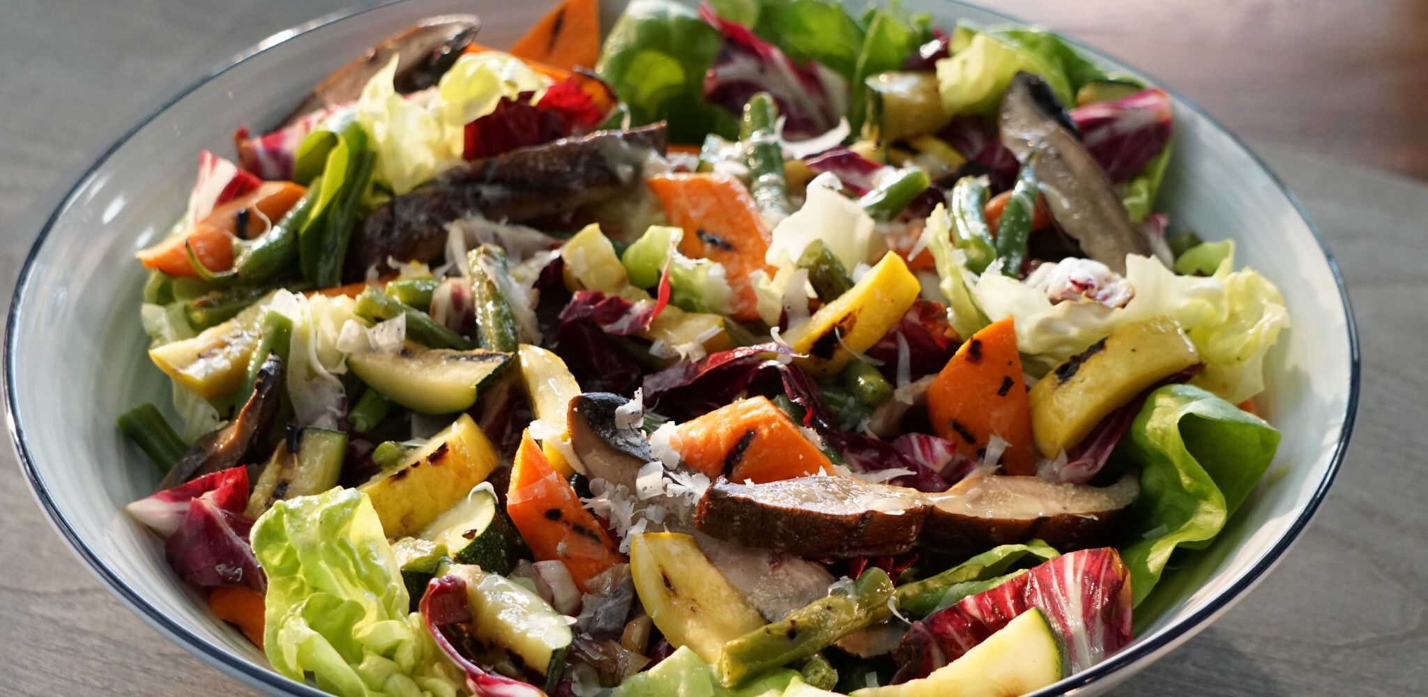 Grilled Chopped Vegetable Salad Recipe Vegetable Salad Recipes Grilled Vegetable Salads Veggie Salad