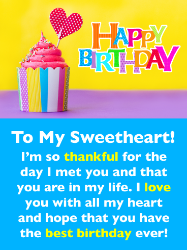 Thankful For You Romantic Happy Birthday Card For Him Birthday Greeting Cards By Davia Birthday Wishes For Lover Birthday Wishes For Boyfriend Happy Birthday Cards