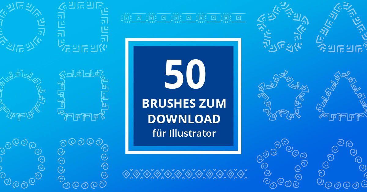 50 brushes fur adobe illustrator schmuckvolle ornamente vektorgrafik erstellen affe vektor würfel