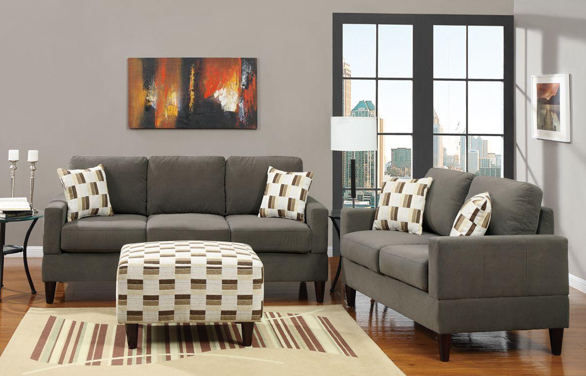 sala 14 400 a solo 11 en color gris cojines de On muebles de sala color gris