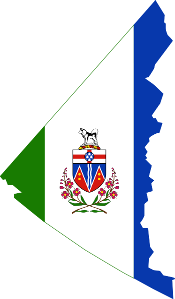 File Flag Map Of Yukon Svg Wikimedia Commons Flag Canadian Things Map