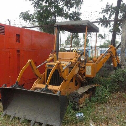 For sale! Original Japan surplus backhoe loader Make: komatsu d10s-1