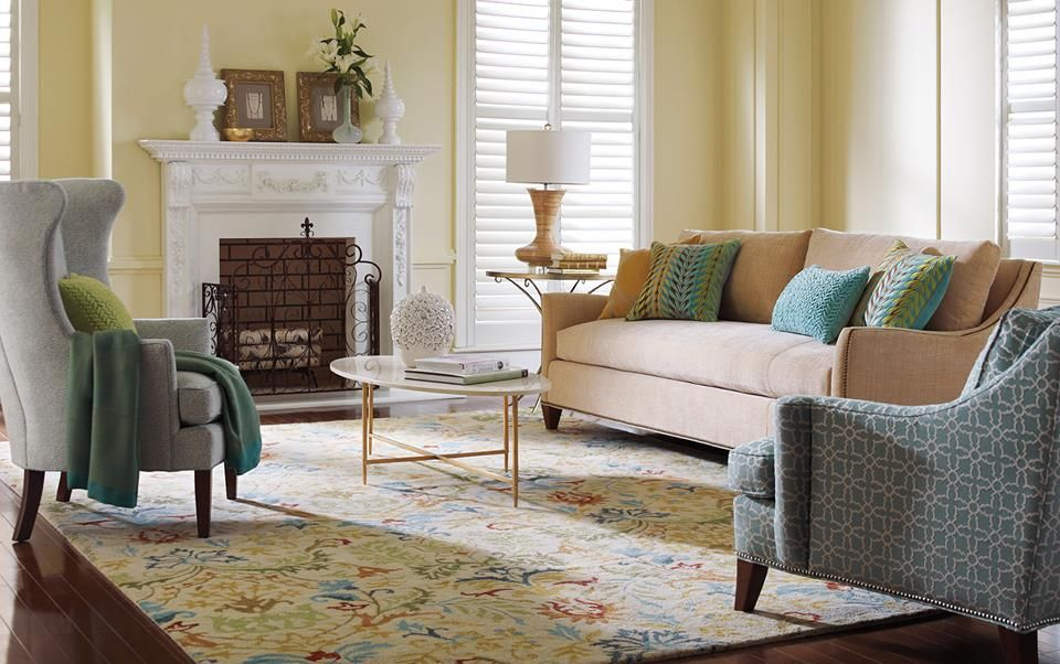 Signs Of Spring From Company C Here Is Their New Hayden Collection Home Home Decor Beautiful Living Rooms