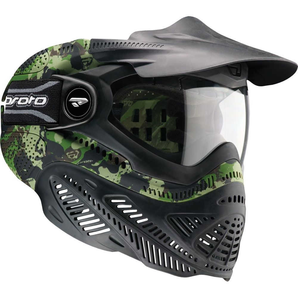 Dye Precision Proto Camouflage FS Full Face Safety Mask