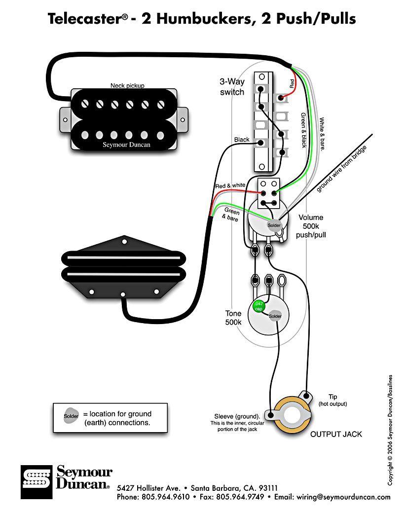 tele wiring diagram, 2 humbuckers, 2 push pulls wiring diagramstele wiring diagram, 2 humbuckers, 2 push pulls
