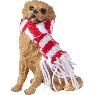 The Holiday Aisle Retriever Christmas Ornament Dog Ornaments