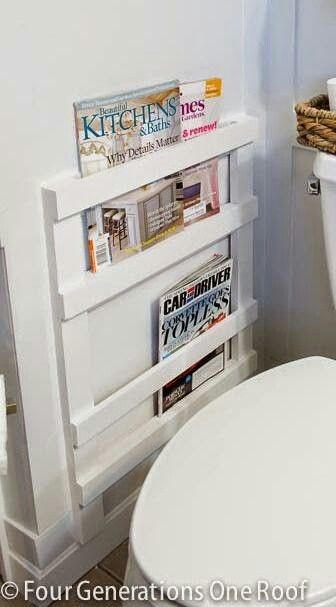 Porta Revistas Muebles Pinterest Banos Cuarto De Bano Y Hogar - Revistas-decoracion-baos