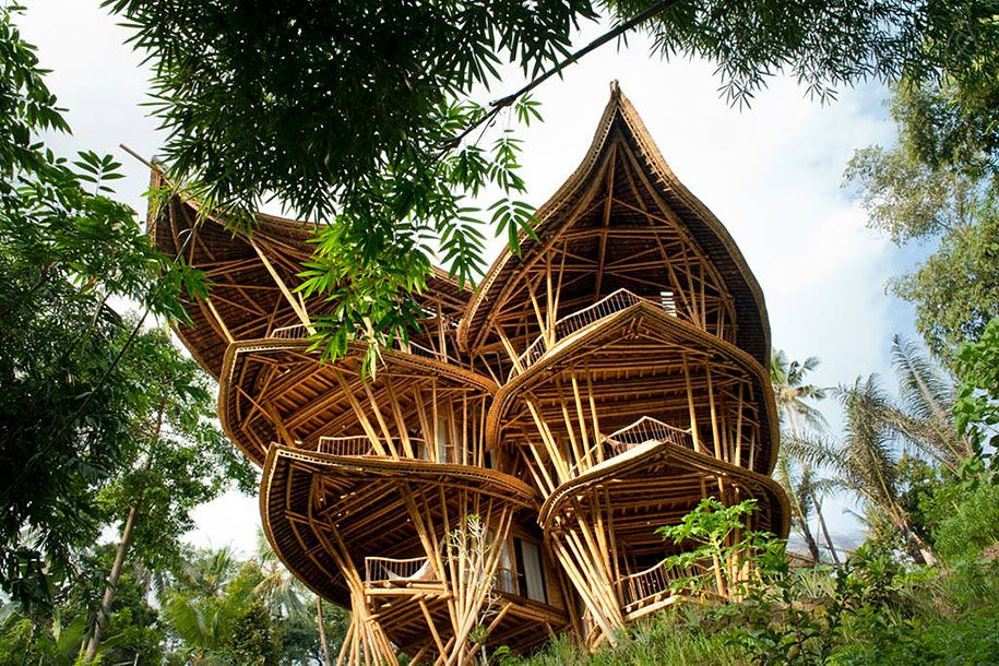 Woman Quits Job To Build Sustainable Bamboo Homes In Bali Elora Hardy Raised Knows About Bamboos Unique Qualities Firsthand
