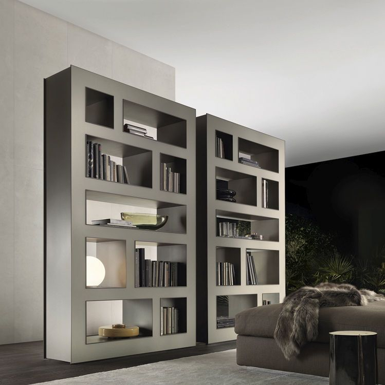 contemporary bookshelves | idi design