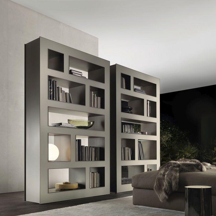 contemporary bookshelves | idi design