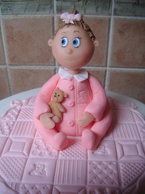 Cake Toppers For Baby Girl Christening : Baby Girl Christening cake topper Artistic - Cake ...