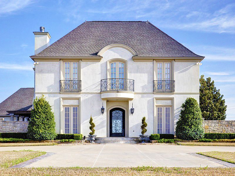 french chateau homes photos french chateau on the west texas prairie update the metroplex - French Design Homes