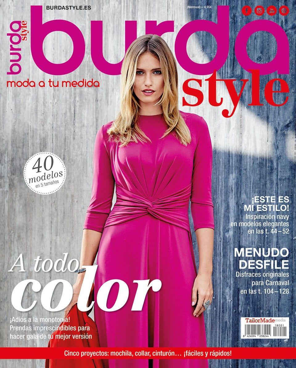 burda style 01/2018 | Burda style es | Pinterest