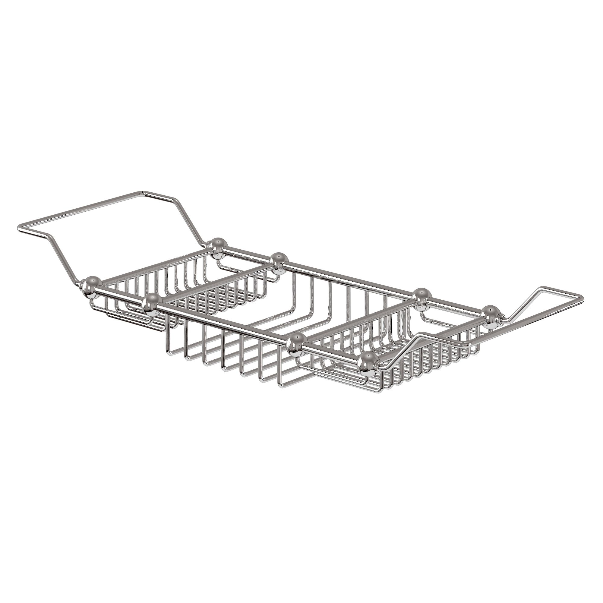 Bathroom Accessories | Burlington bath rack - Chrome | Calamansac EW ...