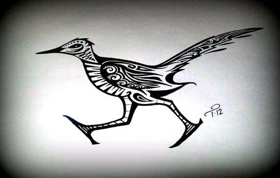 Roadrunner Runner Tattoo Custom Ink Roadrunner Art
