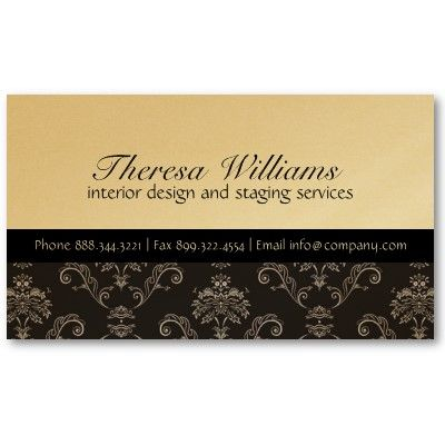 Gold black damask business card from httpzazzle gold black damask business card from httpzazzle reheart Gallery