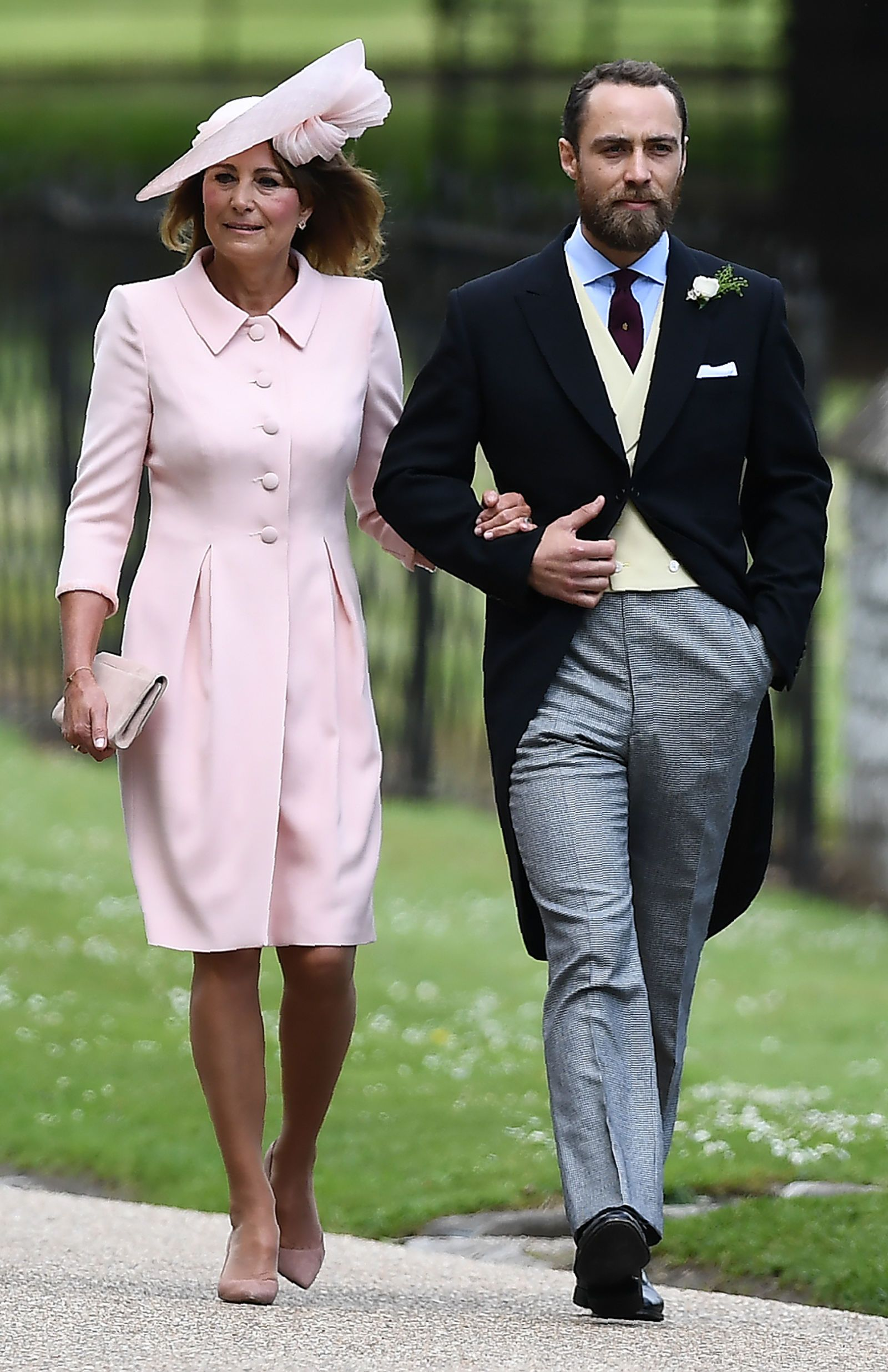 Photo of Kate Middleton  & her Brother  James William Middleton