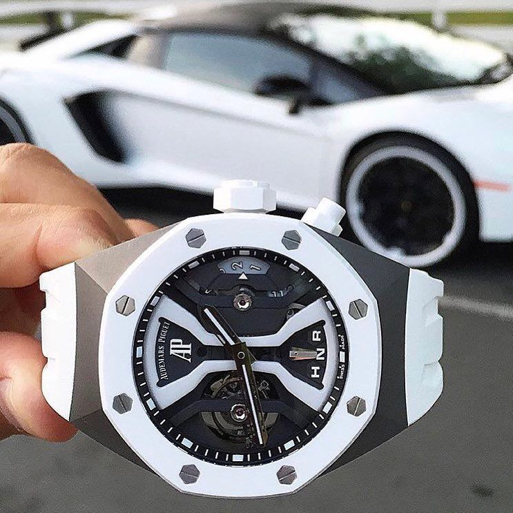 Here Is The White Audemars Piguet Royal Oak Concept Tourbillon