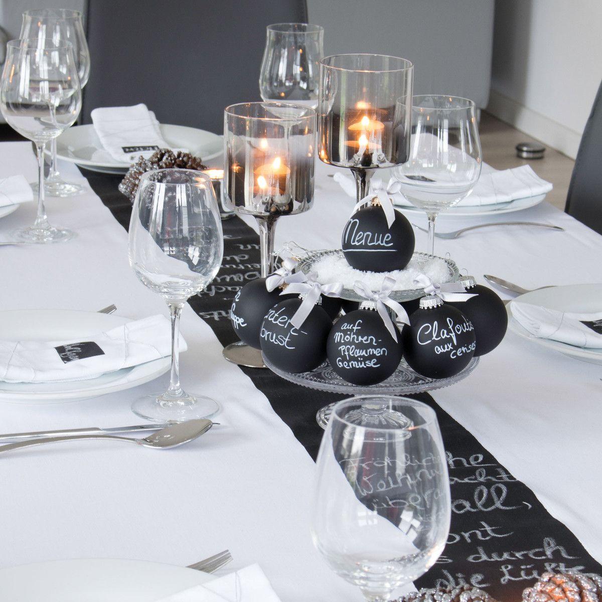 corpus delicti black magic diy baumkugel 2er set schwarz matt weihnachtsdeko pinterest. Black Bedroom Furniture Sets. Home Design Ideas