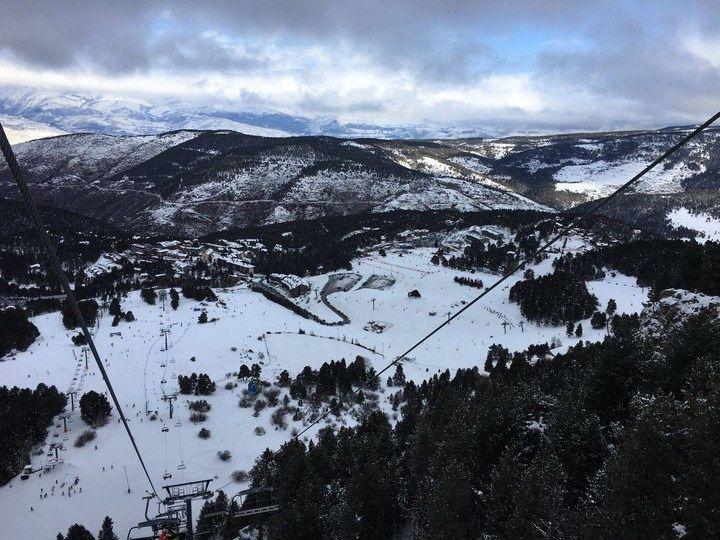 Esquiar En La Molina Esquí Alpino Esquí Esquiar