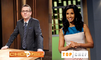 Who's your favorite foodie TV show host  - Ted Allen from Chopped or Padma Lakshmi from Top Chef?