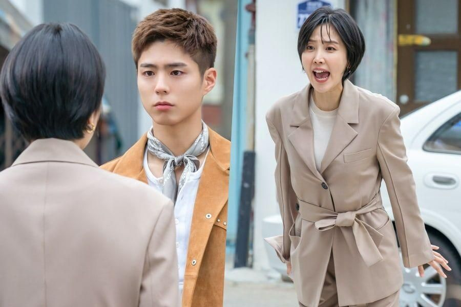 "Park Bo Gum's Stubbornness Angers Shin Dong Mi In ""Record Of Youth"""