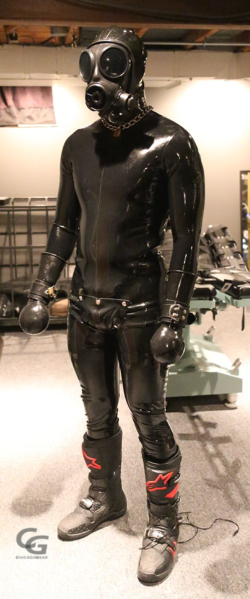 Olive Latex Rubber Belt looks good with Catsuit etc