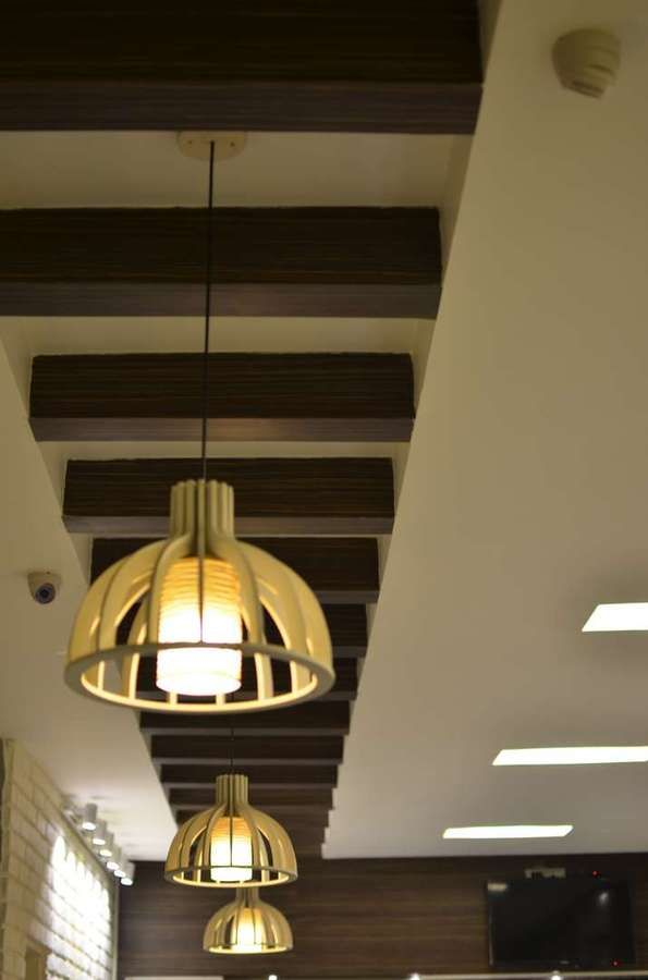 Ceiling Design Ideas India Wood Accents Ceiling Design Living