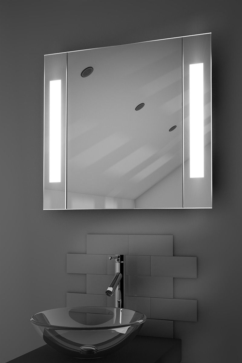 Gracious Sensor Cabinet H 600mm X W 650mm X D 140mm Illuminated Mirrors Mirror Cabinets Led Mirror Bathroom